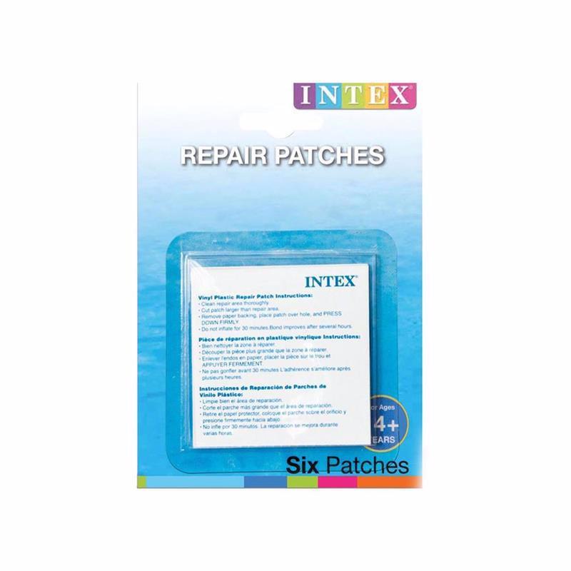 Ремонтный набор Intex 59631 (6 заплаток, размером 7x7 см) Repair Patches (Для надувных изделий)