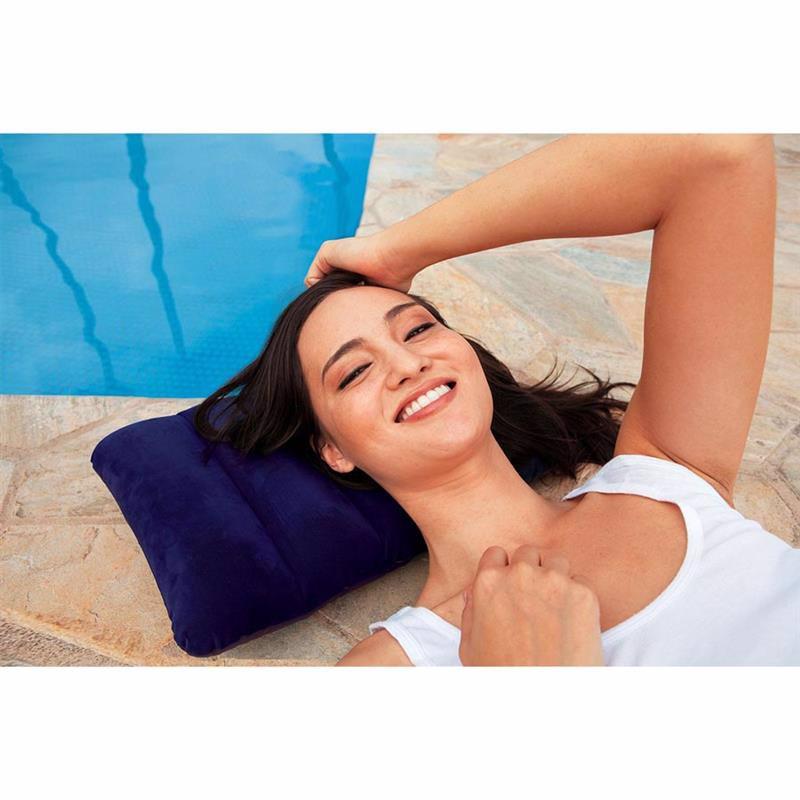 Надувная подушка Intex 68672 (43 х 28 х 9 см) Downy Pillow