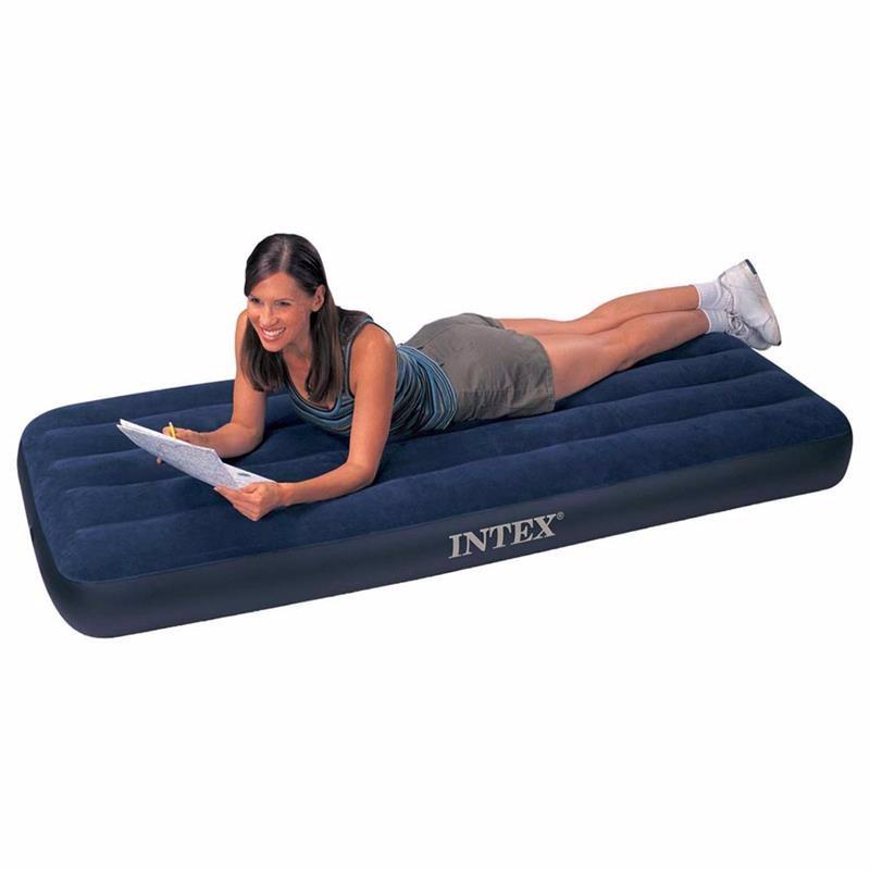 Односпальный надувной матрас Intex 68950 (76 х 191 x 22 см) Classic Downy