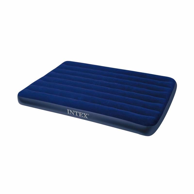 Полутороспальный надувной матрас Intex 68758 (137 х 191 x 22 см) Classic Downy