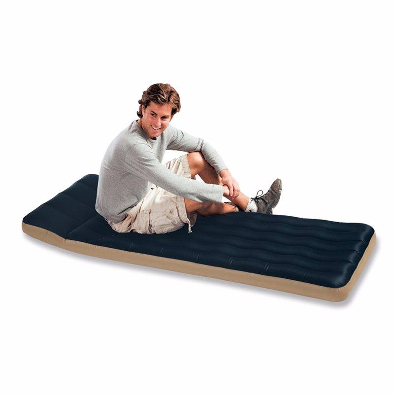 Односпальный кемпинговый надувной матрас Intex 68798 (72 х 189 х 20 см) Camping