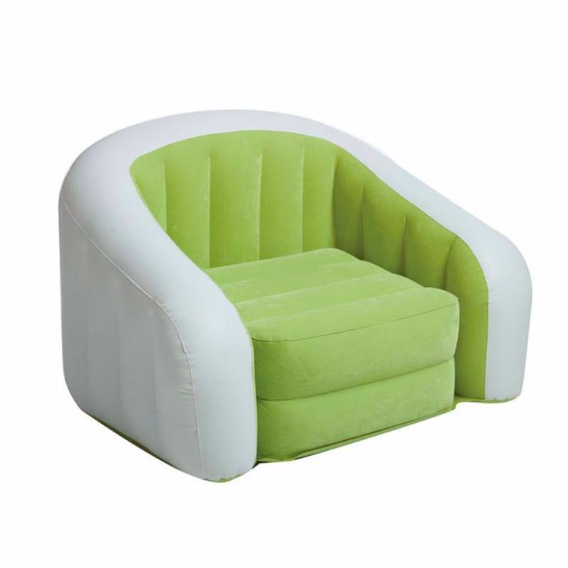 Надувное кресло Intex 68571 (97 x 76 x 69 см) Cafe Club (Салатовый)