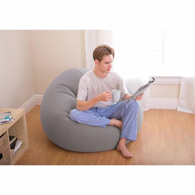 Надувное кресло Intex 68579 (107 x 104 x 69 см) Beanless Bag