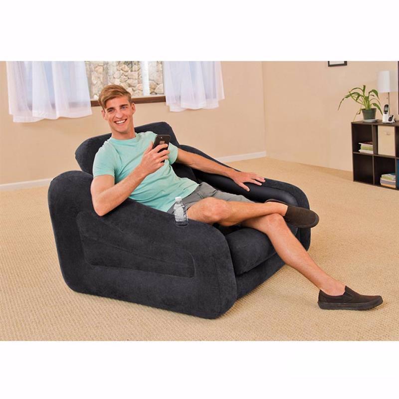 Надувное кресло-трансформер Intex 68565 (107 x 221 x 66 см) Pull-Out Chair