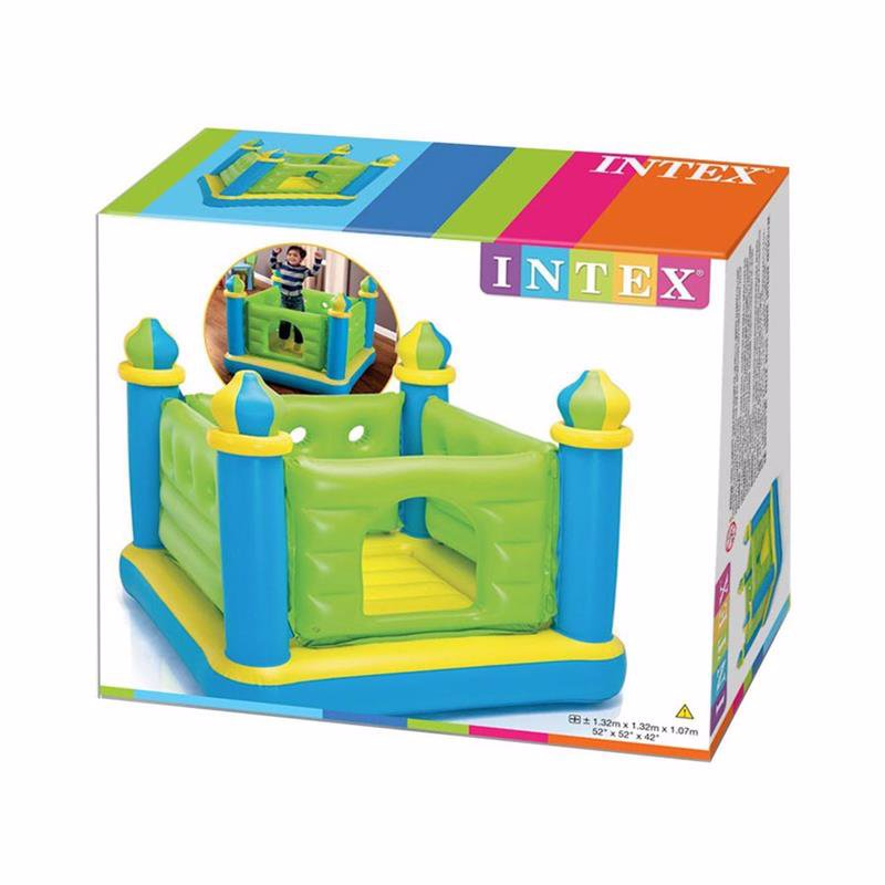 Надувной игровой центр-батут Intex 48257 (132 x 132 x 107 см) Jump-O-Lene