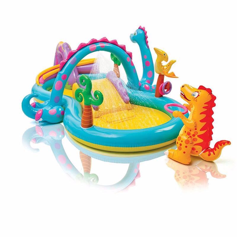 Водный надувной игровой центр Intex 57135 (333 x 229 x 112 см) Планета динозавров