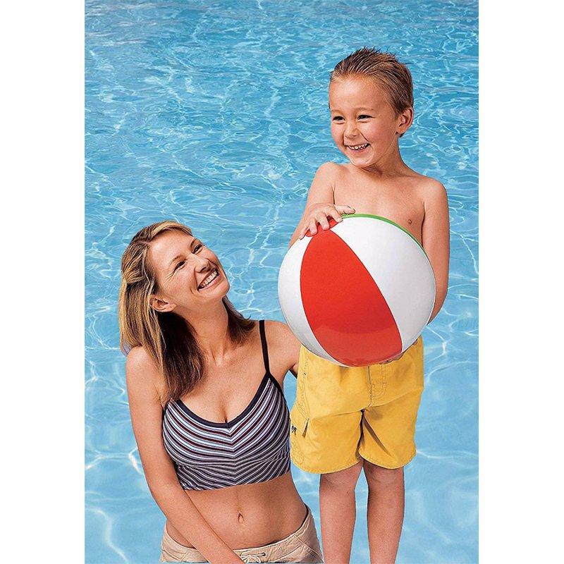 Надувной мяч Intex 59010 Glossy Panel Ball (41 см)