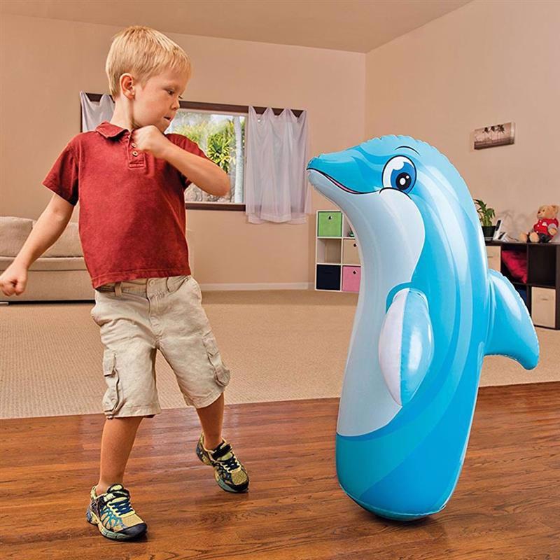 Надувная игрушка-неваляшка Intex 44669 (97 x 61 см) Дельфин