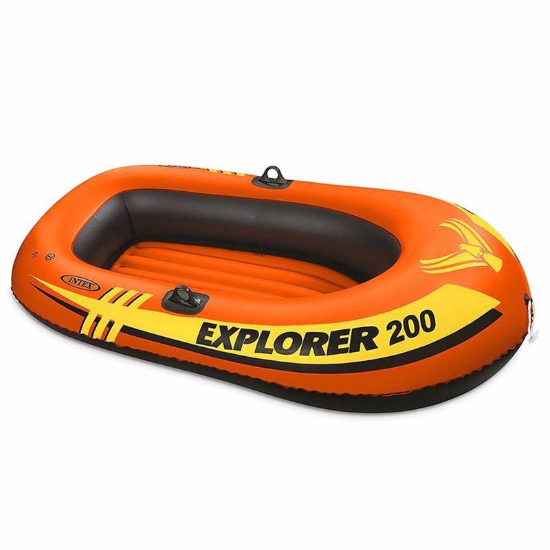Двухместная надувная лодка Intex 58330 (185х94х41 см) Explorer 200