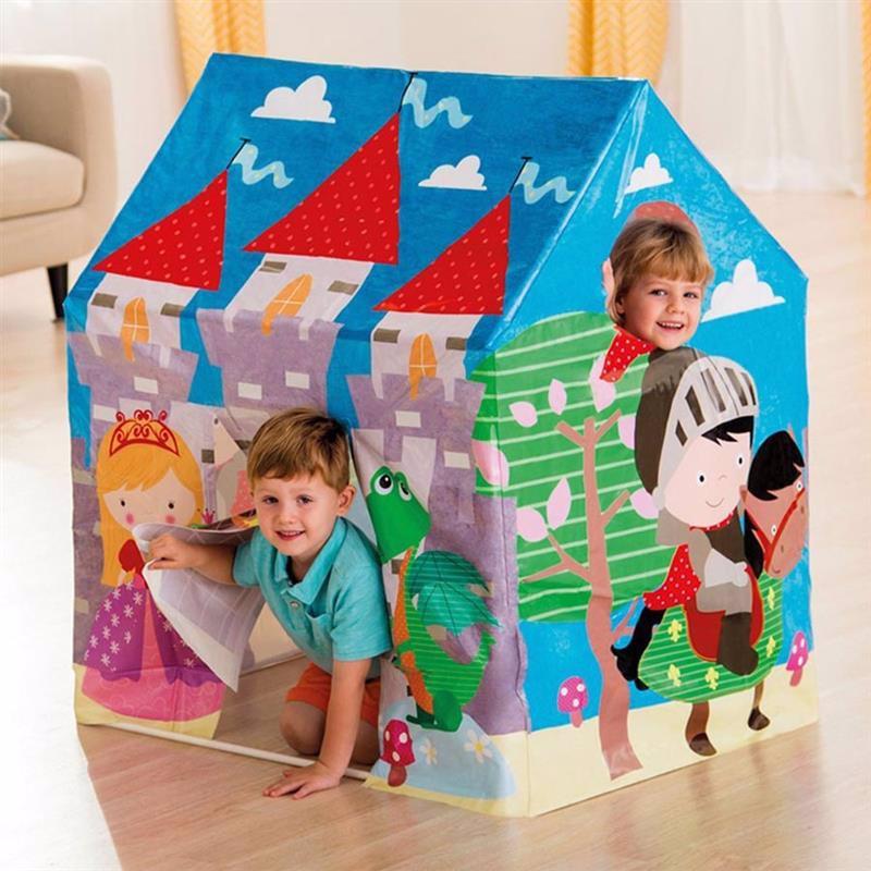 Детский игровой домик-палатка Intex 45642 (95 x 75 x 107 см) Королевство