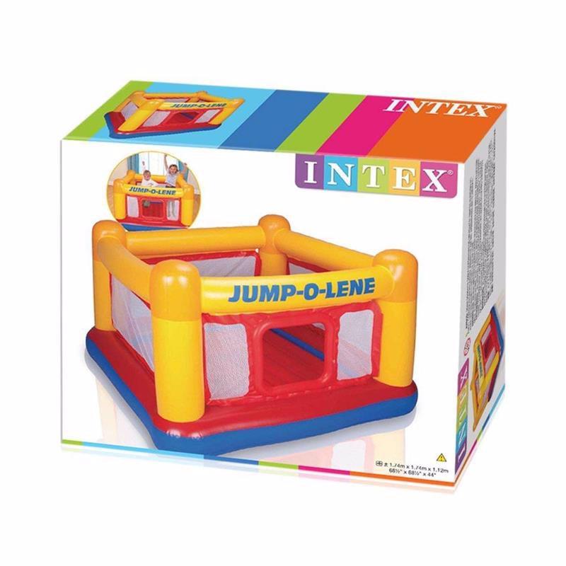 Надувной игровой центр-батут Intex 48260 (174 x 174 x 112 см) Jump-O-Lene