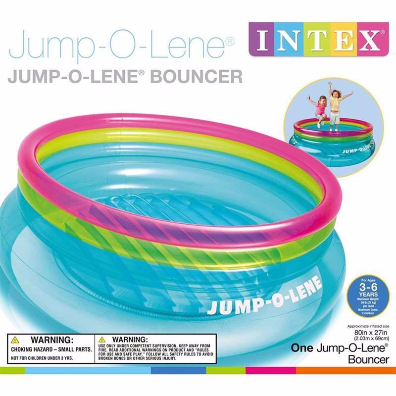 Надувной игровой центр-батут Intex 48267 (203 x 69 см) Jump-O-Lene