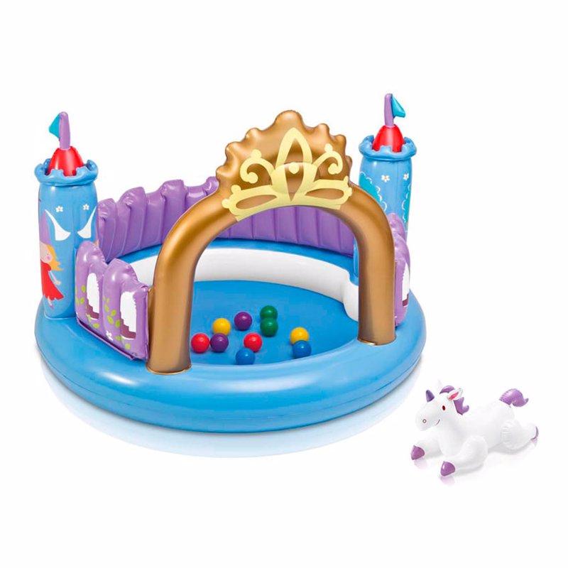 Надувной игровой центр-манеж Intex 48669 (130 x 91 см) Магический замок