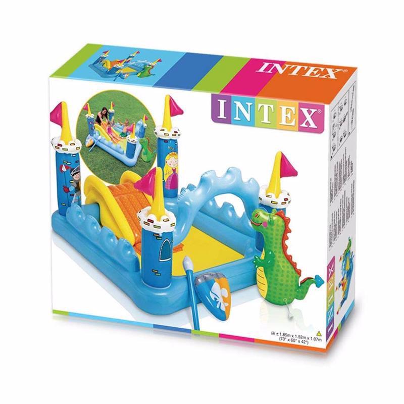 Водный надувной игровой центр Intex 57138 (185 x 152 x 107 см) Фантастический замок