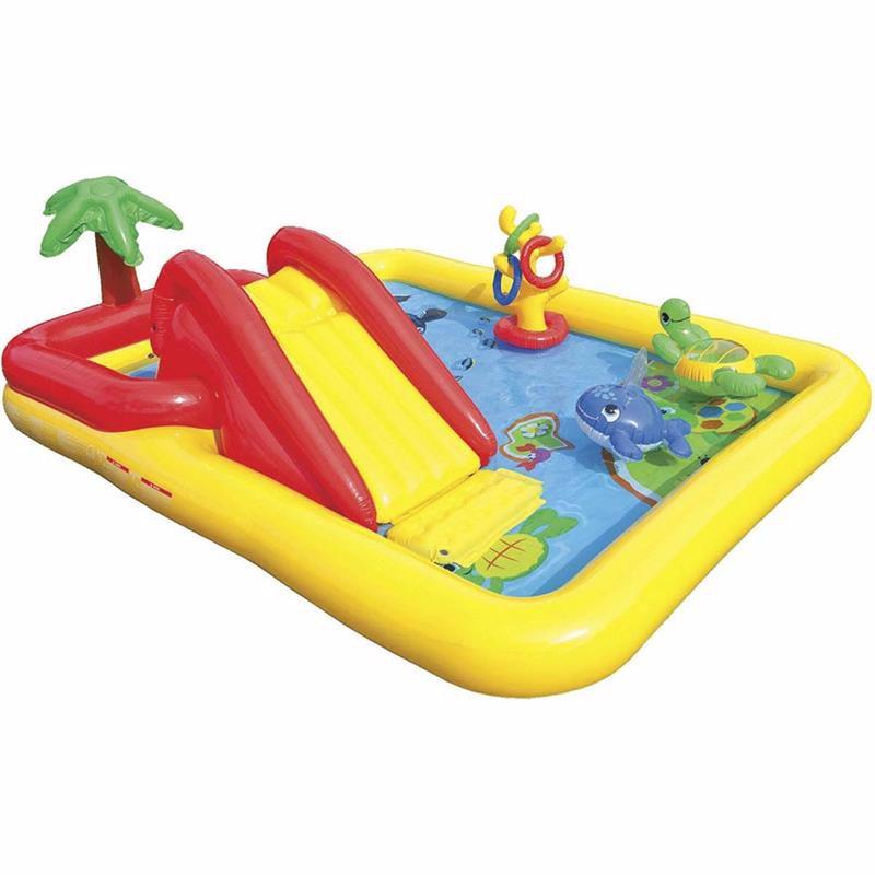 Водный надувной игровой центр Intex 57454 (254 x 196 x 79 см) Океан