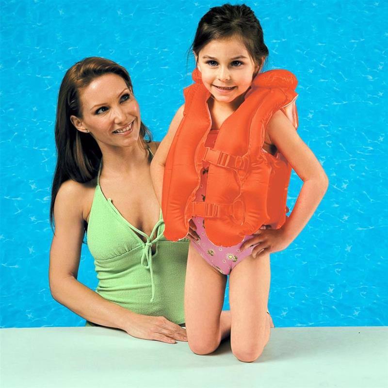 Детский надувной жилет Intex 58671 Deluxe Swim Vest