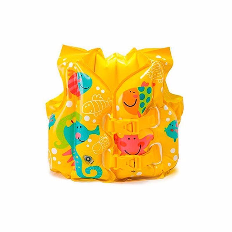 Детский надувной жилет Intex 59661 Tropical Buddies Swim Vest
