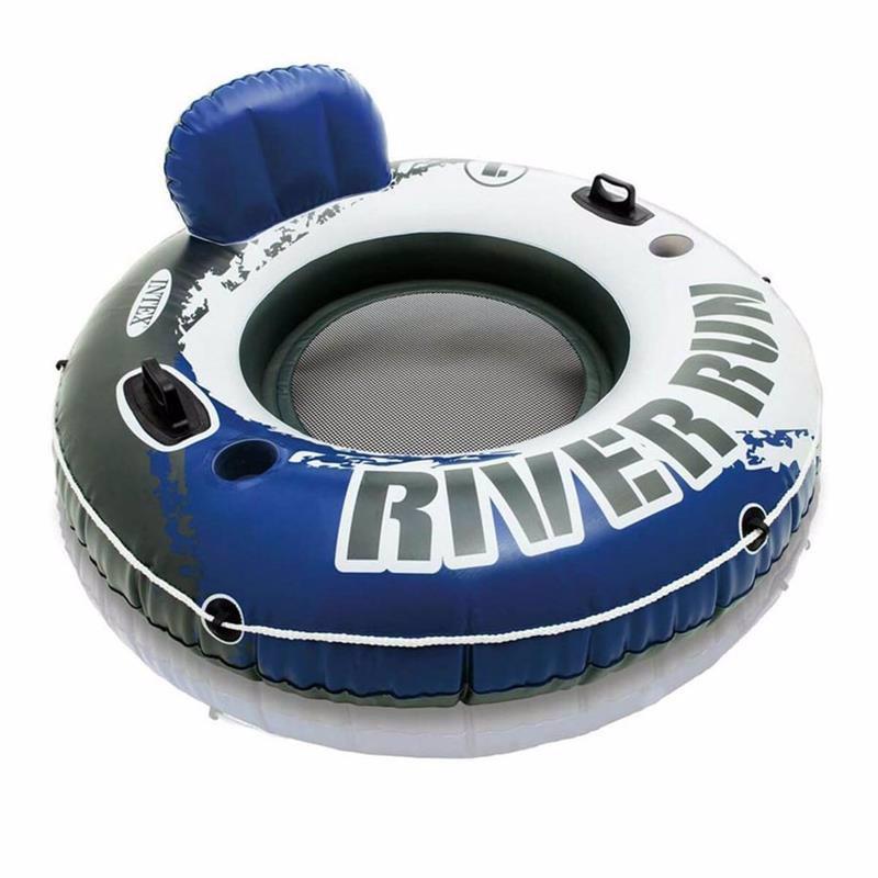 Надувной круг Intex 58825 с ручками River Run 1 (135 см)