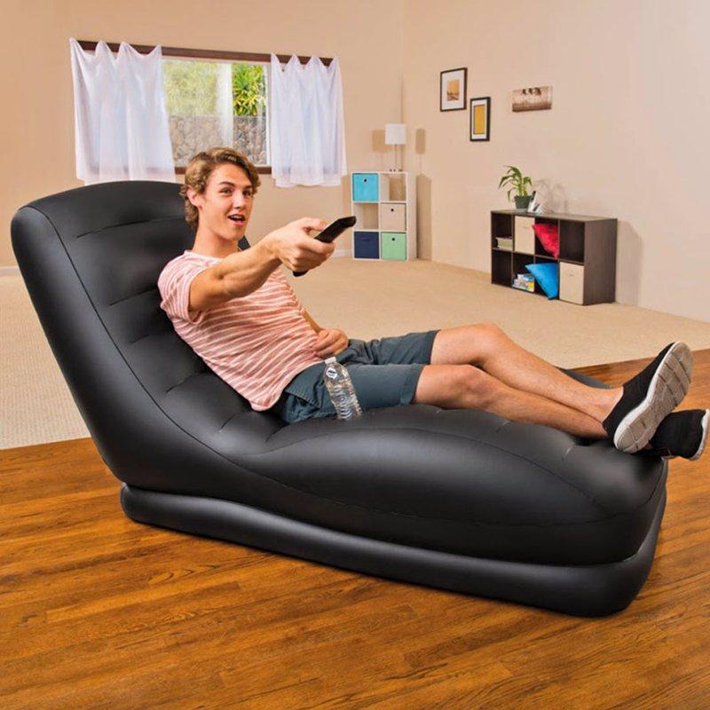 Надувное кресло Intex 68585 (81 x 173 x 91 см) Mega Lounge