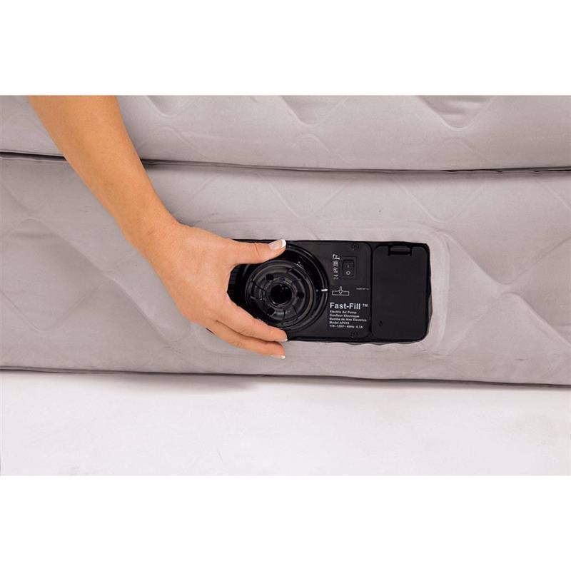 Односпальная надувная кровать Intex 64462 (99 x 191 x 51 см) Supreme Air-Flow + Встроенный электронасос 220В