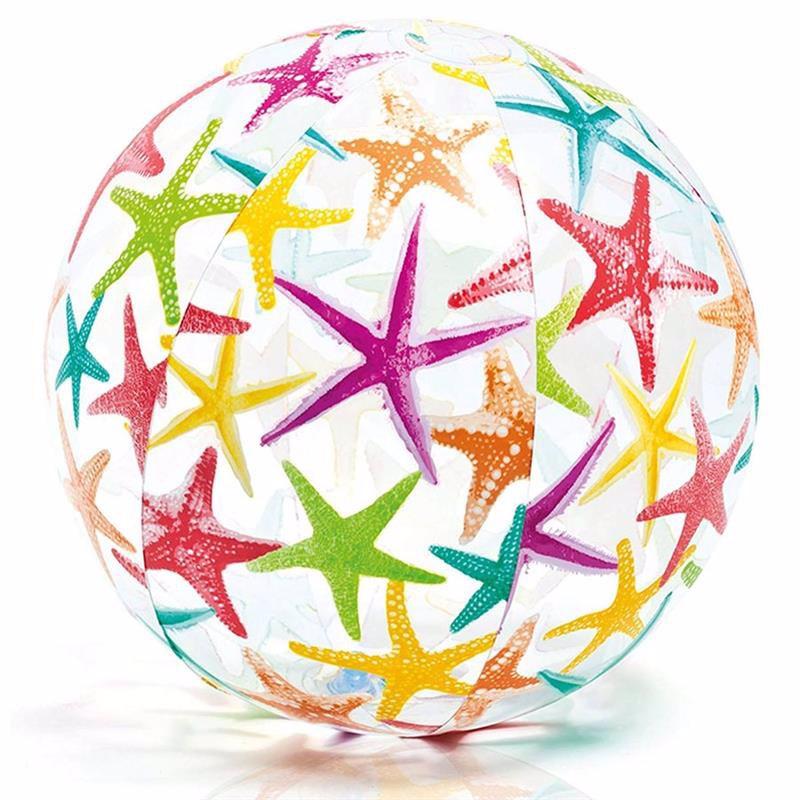 Надувной мяч Intex 59050 (Звездочки) Lively Print Balls (61 см)