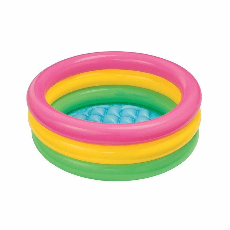 Детский надувной бассейн Intex 57402 Sunset Glow Baby Pool (61х22 см)