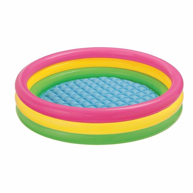 Детский надувной бассейн Intex 57412 Sunset Glow Pool (114х25 см)