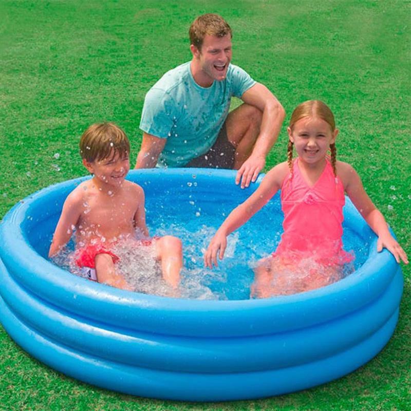 Детский надувной бассейн Intex 58426 Crystal Blue Pool (147х33 см)