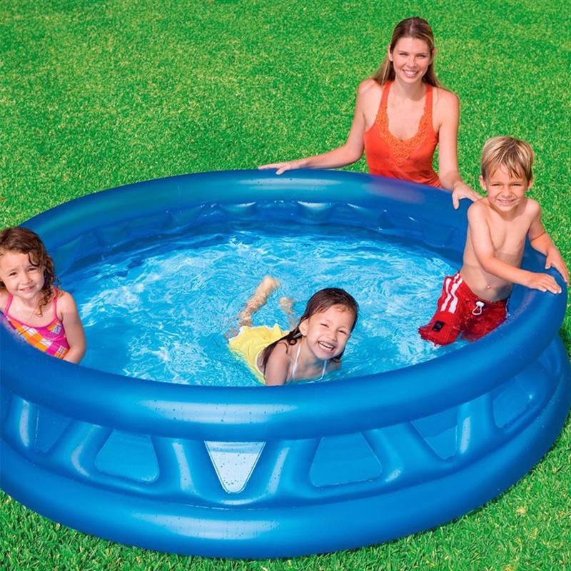 """Детский надувной бассейн Intex 58431 """"Конус"""" Soft Side Pool (188х46 см)"""
