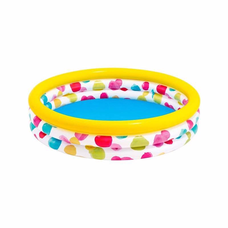 Детский надувной бассейн Intex 58449 Wild Geometry Pool (168х38 см)