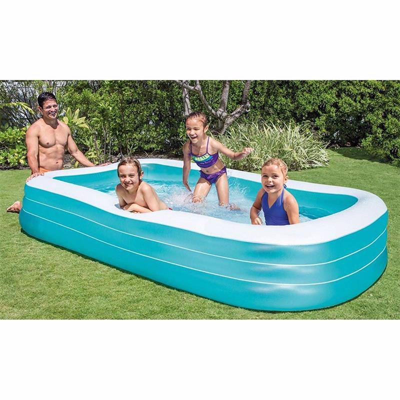 Семейный надувной бассейн Intex 58484 Swim Center Family Pool (305х183х56 см)