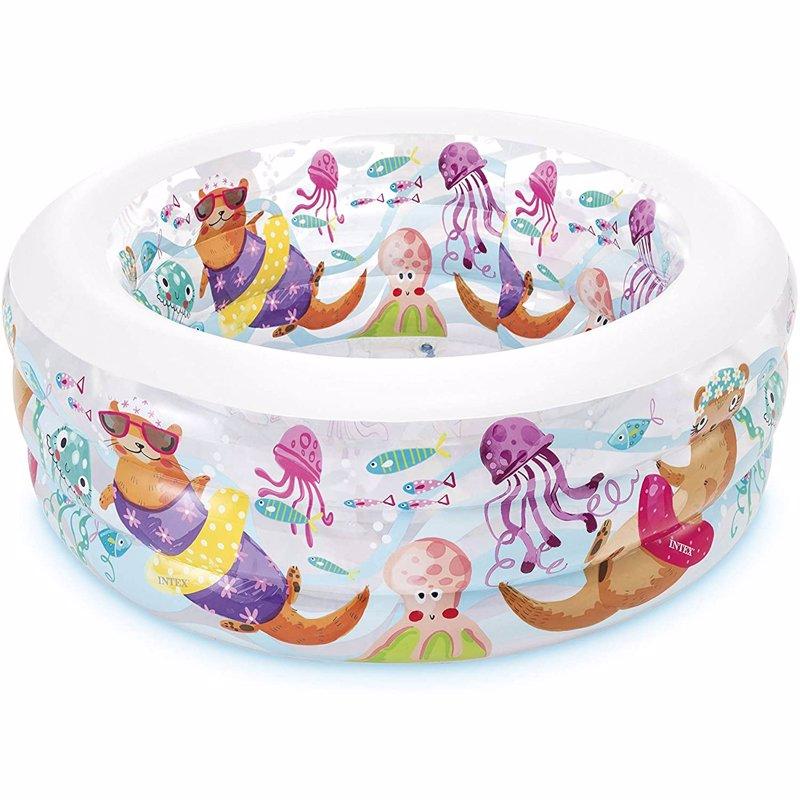 Детский надувной бассейн Intex 58480 Aquarium Pool (152х56 см)