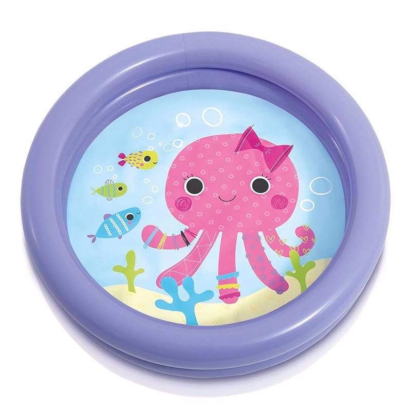 Детский надувной бассейн Intex 59409 (Фиолетовый) My First Pool (61х15 см)