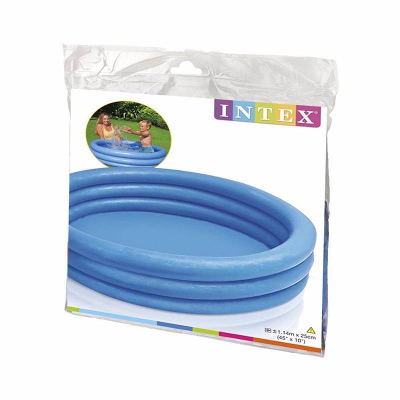 Детский надувной бассейн Intex 59416 Crystal Blue Pool (114х25 см)