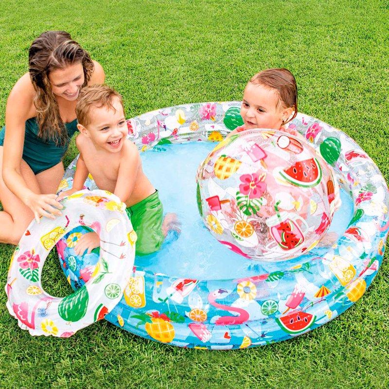 Детский надувной бассейн Intex 59460 Stargaze Pool Set (122х25 см)