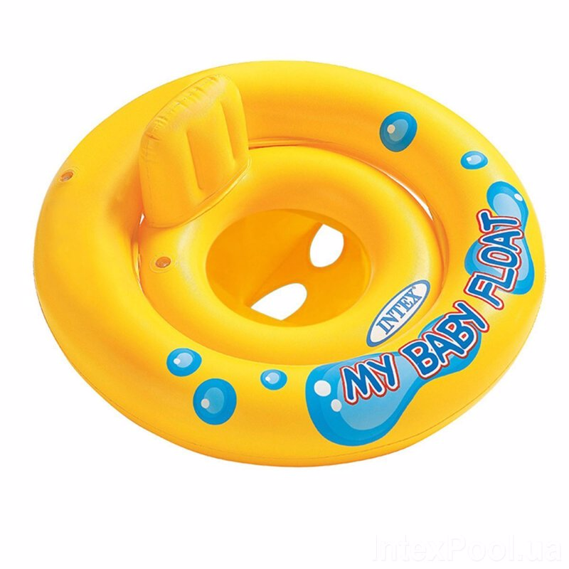 Детский надувной круг-плотик Intex 59574 My Baby Float (67 см)