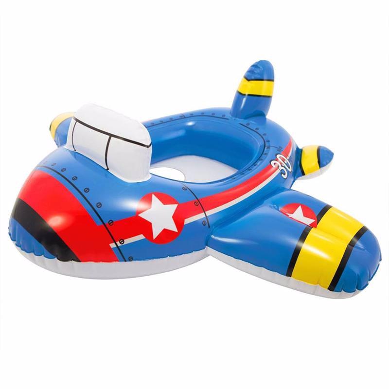 Детский надувной круг-плотик Intex 59586 Kiddie Floats (Самолет)