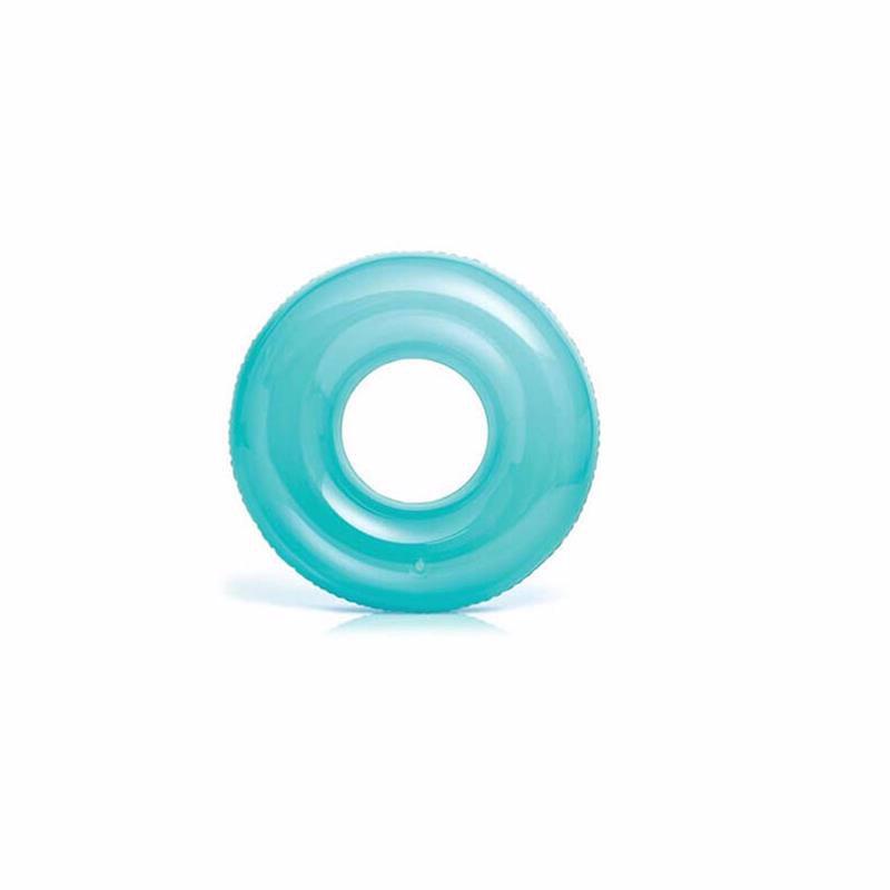 Надувной круг Intex 59260 (Голубой) Transparent Tubes (76 см)