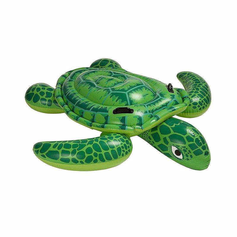 "Детский надувной плотик Intex 56524 ""Черепаха"" (191х170 см) Sea Turtle Ride-On"