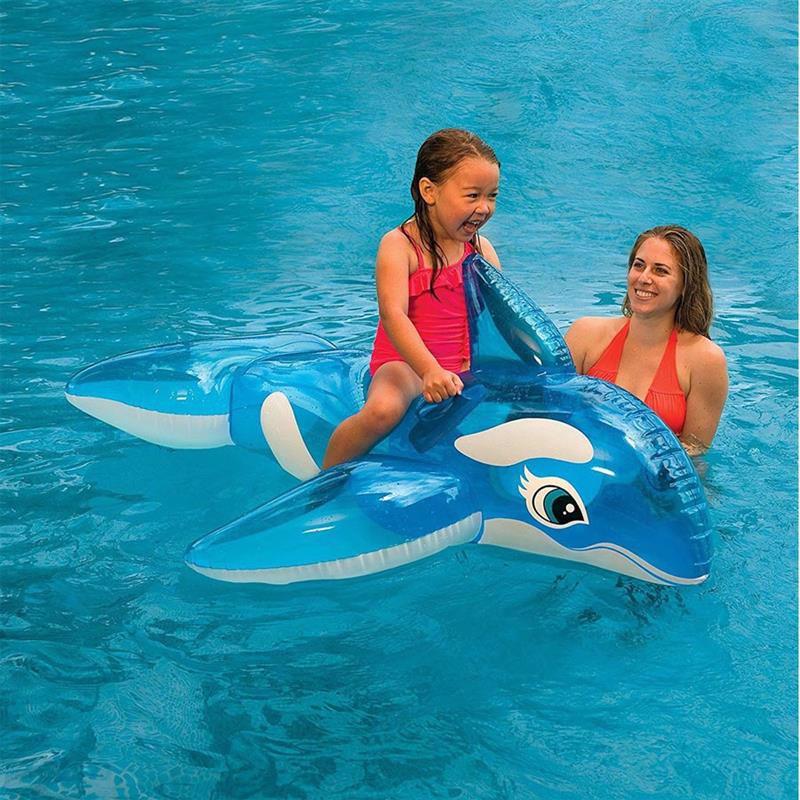 "Детский надувной плотик Intex 58523 ""Касатка"" (152х114 см) Lil' Whale Ride-On"