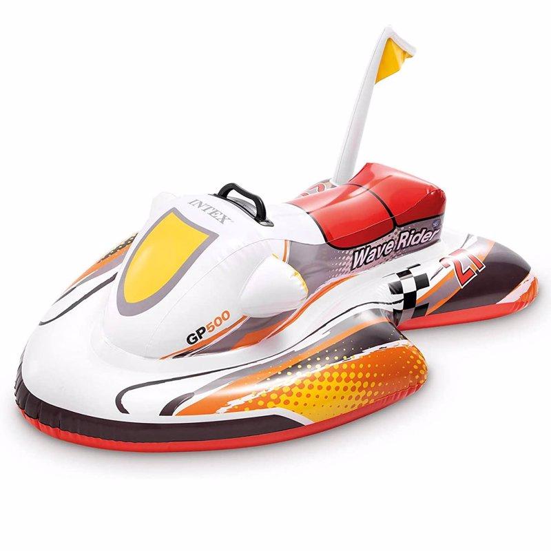 "Детский надувной плотик Intex 57520 ""Скутер"" (117х77 см) Wave Rider Ride-On"