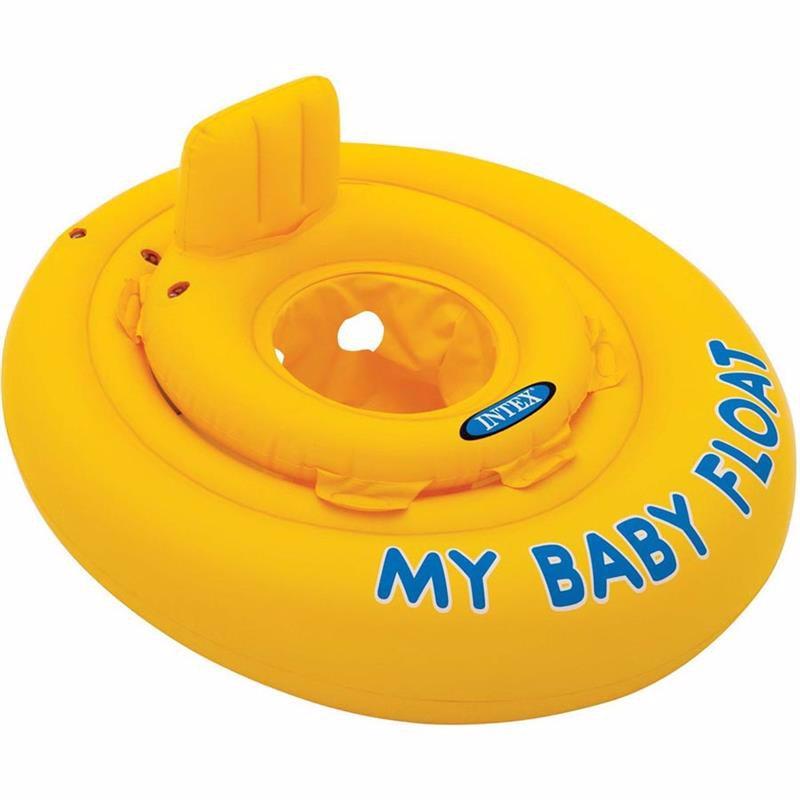 Детский надувной круг-плотик Intex 56585 My Baby Float (70 см)