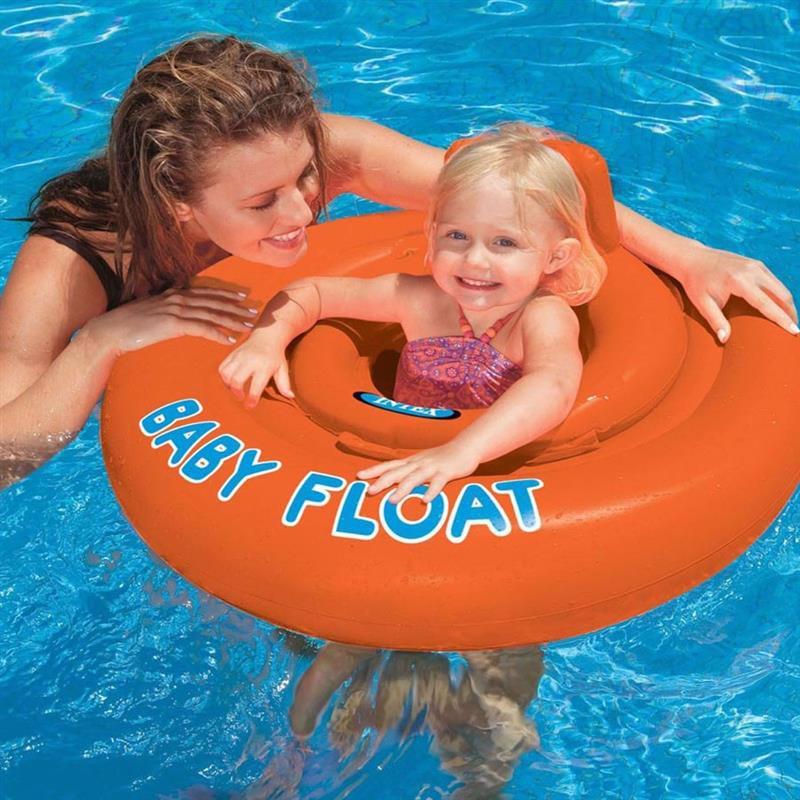 Детский надувной круг-плотик Intex 56588 Baby Float (76 см)