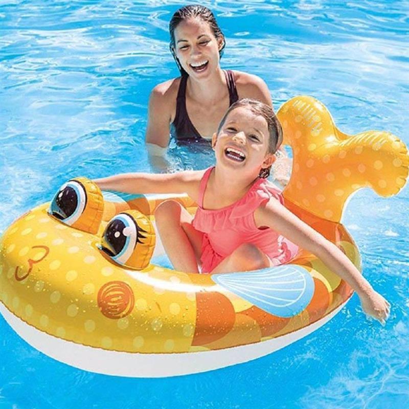Детский надувной плотик Intex 59380 Рыбка (117x76 см) Pool Cruisers