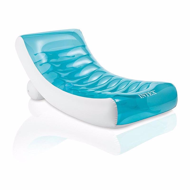 Пляжное надувное кресло Intex 58856 Rockin' Lounge (188х99 см)