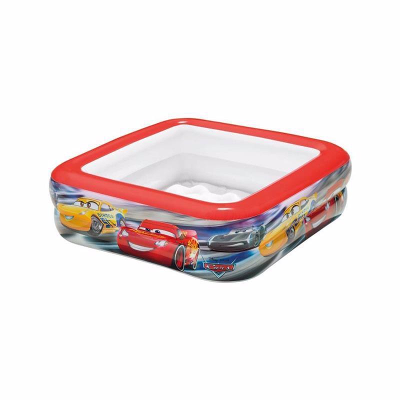 Детский надувной бассейн Intex 57101 Тачки Cars Play Box Pool (85x85x23 см)
