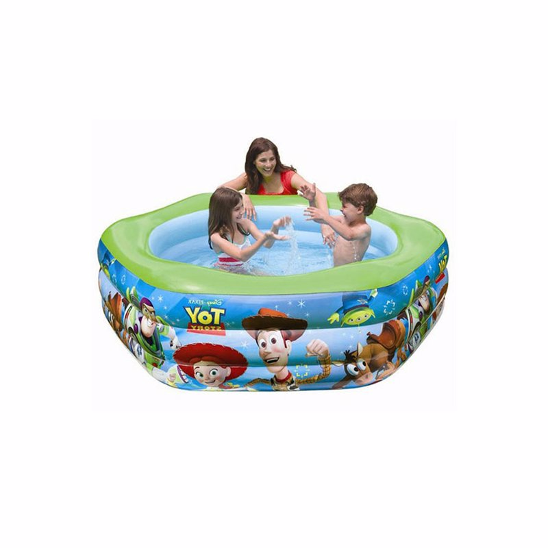 Детский надувной бассейн Intex 57490 История Игрушек ToY Story Deluxe Pool (191x178x61 см)