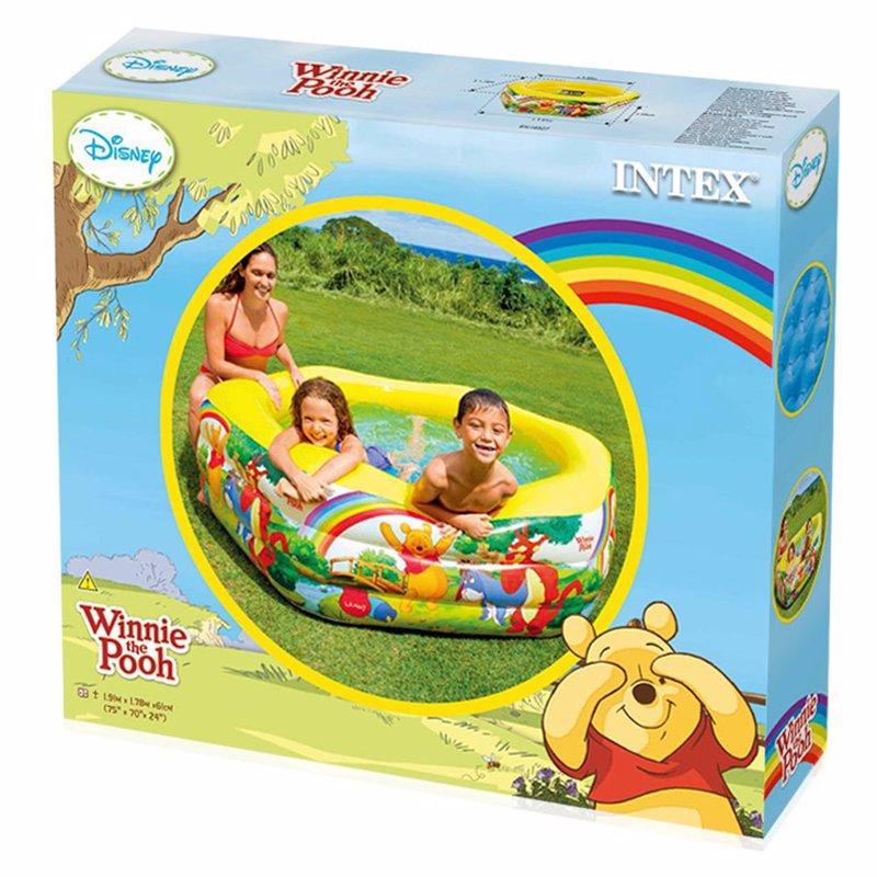 Детский надувной бассейн Intex 57494 Винни Пух Winnie the Pooh Deluxe Pool (191x178x61 см)