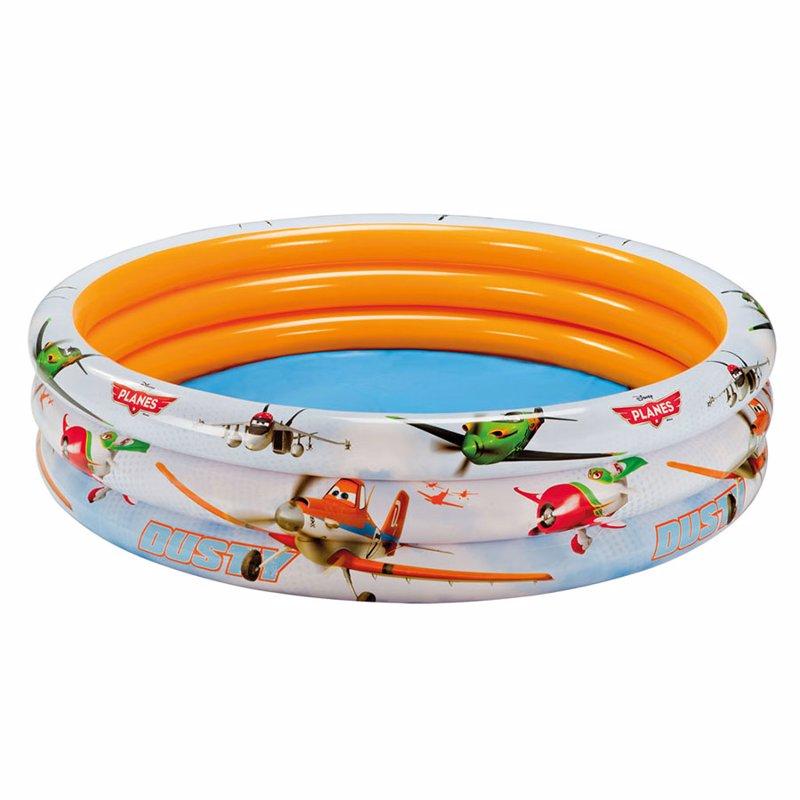 Детский надувной бассейн Intex 58425 Литачки Planes 3 Ring Pool (168x38 см)