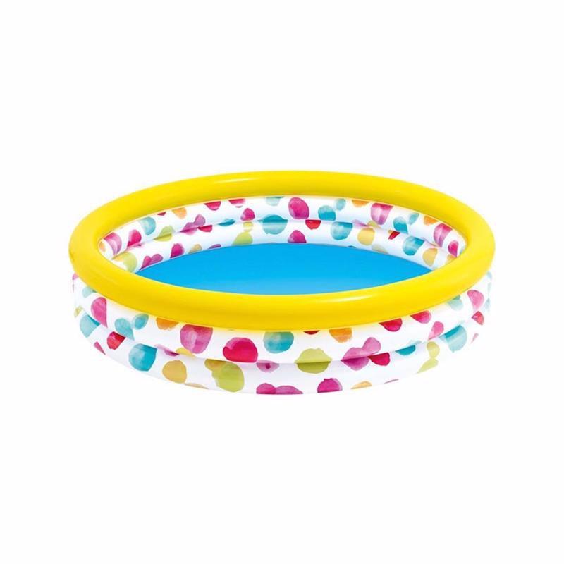 Детский надувной бассейн Intex 58439 Wild Geometry Pool (147x33 см)